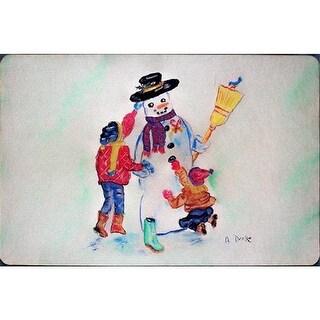 Betsy Drake DM903 Snowman Door Mat, Small