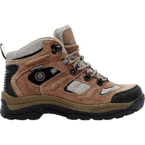 Nevados Women's Klondike Waterproof Mid Hiking Boot Chocolate Chip/Stone/Hyacinth Suede