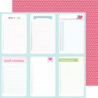 """Love You Lots - Cream & Sugar Double-Sided Cardstock 12""""X12"""""""