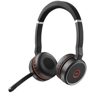 Jabra Evolve 75 Microsoft Optimized Stereo Bluetooth Headset