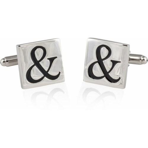 Ampersand Cufflinks And Sign Symbol