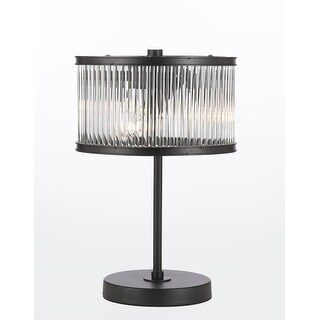 Crystal Rod Iron Table Lamp 1920s Essex Contemporary Modern, Desk Lamp,Living Room,For Bedroom