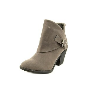 Blowfish Suba Women  Round Toe Synthetic Gray Ankle Boot