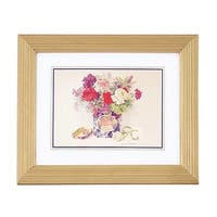 Floral Print Wood Frame Set of 4 9.5 x 11.5 Wall Art | Renovator's Supply