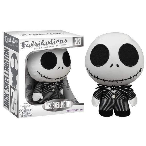 Nightmare Before Christmas Funko Fabrikations Plush Jack Skellington - multi