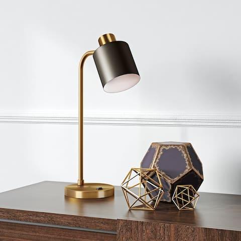 Carson Carrington Saittajarvi Brass Table Lamp