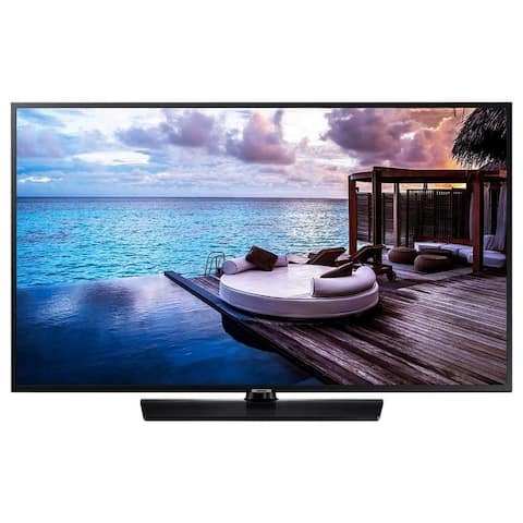 Samsung 670U Series 55 Hospitality TV 4K UHD 3840 x 2160 Direct-lit LED Technology - Black