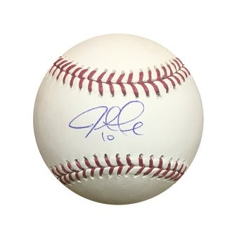 Justin Turner Autographed MLB Authentic Signed Baseball PSA DNA COA