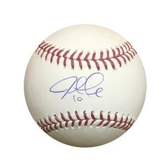Justin Turner Autographed MLB Authentic Signed Baseball PSA DNA COA