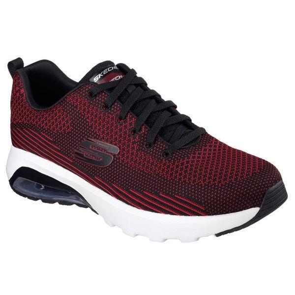 Skechers 51490 BKRD Men's SKECH-AIR VARSITY Sneaker