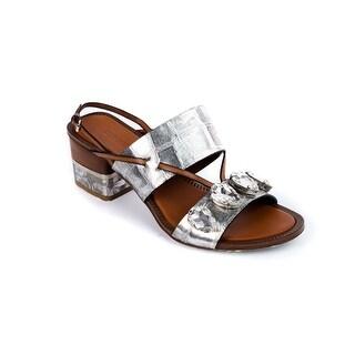 Roberto Cavalli Women's Silver Embellished Crystal Sandals https://ak1.ostkcdn.com/images/products/is/images/direct/a14f43e8459793c1df7bb98e25668deaf2713c7f/Roberto-Cavalli-Women%27s-Silver-Embellished-Crystal-Sandals.jpg?_ostk_perf_=percv&impolicy=medium