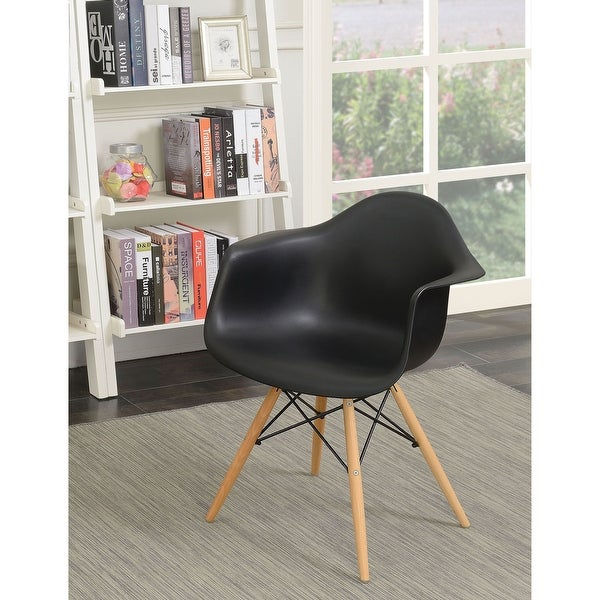 Furniture of America Duff Modern Plastic Dining Chairs (Set of 2). Opens flyout.