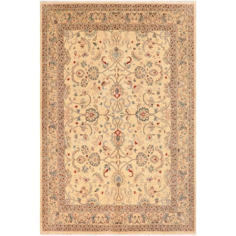 """Shabby Chic Ziegler Yuonne Hand Knotted Area Rug -8'1"""" x 10'0"""" - 8 ft. 1 in. X 10 ft. 0 in."""