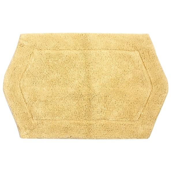 Porch Den Heesacker Yellow Cotton 24 Inch X 40 Inch Bath Rug On Sale Overstock 21236666