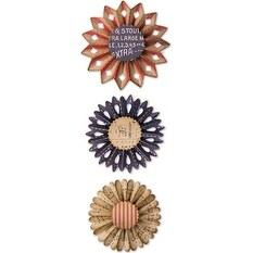 Rosette Set - Sizzix Thinlits Dies By Tim Holtz