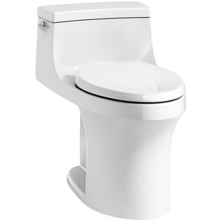 Kohler K-5172 San Souci 1.28 GPF Elongated One-Piece Comfort Height Toilet with AquaPiston Technology - Seat Included