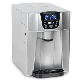 Della 2-in-1 Water Dispenser w/ Built-In Ice Maker Freestanding Machine, 2-Size Cube (26lb per Day) -Silver|https://ak1.ostkcdn.com/images/products/is/images/direct/a1554c167b69f6a7c76f1248c14f1b383b476de7/Della-2-in-1-Water-Dispenser-w--Built-In-Ice-Maker-Freestanding-Machine%2C-2-Size-Cube-%2826lb-per-Day%29--Silver.jpg?_ostk_perf_=percv&impolicy=medium