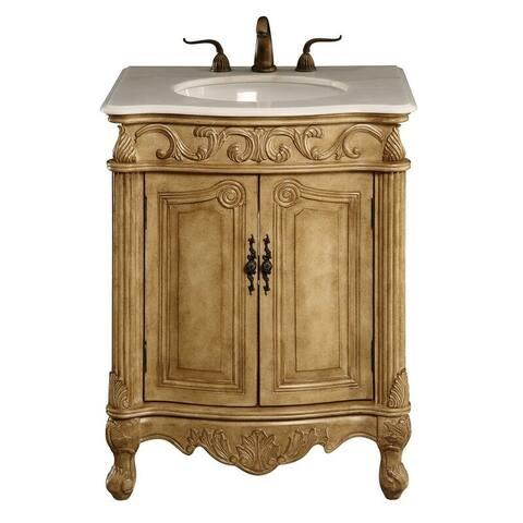 Traditional Single Bathroom Vanity Sink