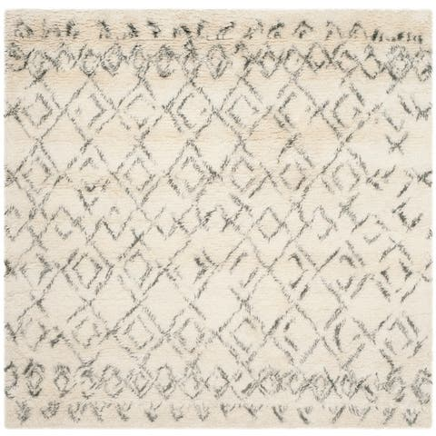Safavieh Handmade Casablanca Shag Roselyn Tribal Wool Rug
