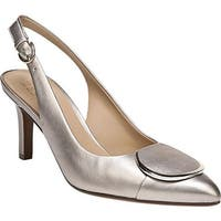 Naturalizer Women's Nora Slingback Pump Champagne Leather