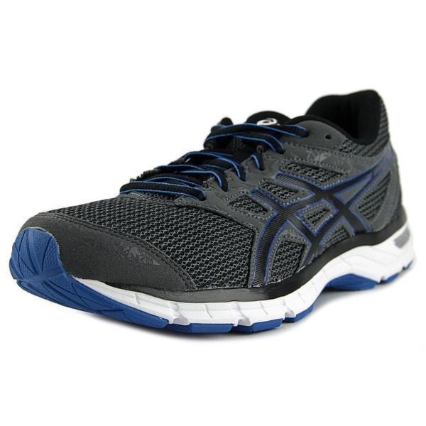 Shop Asics Gel-Excite 4 Men Carbon Black Electric Blue Running Shoes ... d69c5261dd2