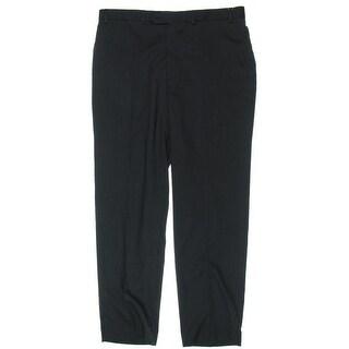 MICHAEL Michael Kors Mens Dress Pants Pindot Flat Front - 38/32