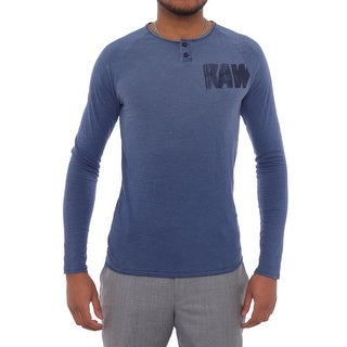 G-Star Raw Glen Granddad Long Sleeve Henley Men Regular Henley Shirt