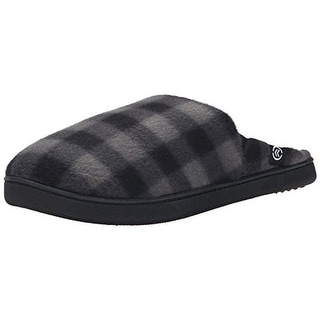 Isotoner Mens Thinsulate Memory Foam Mule Slippers - XXL