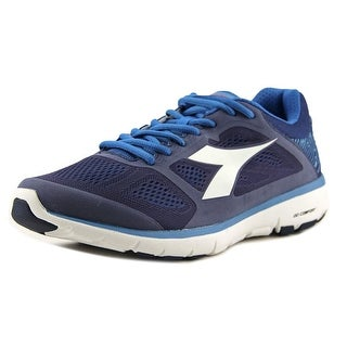 Diadora X Run Men  Round Toe Synthetic Blue Running Shoe