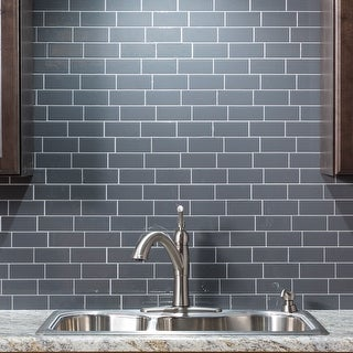 Link to Tack Tile Peel & Stick Vinyl Backsplash (pack of 3) Similar Items in Tile