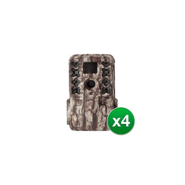 Moultrie MCG-13181 M-40 Game Camera w/ 1080p Full HD Video & 16 MP Resolution (4 Pack)