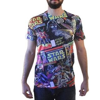 Star Wars Characters Men's Black T-shirt