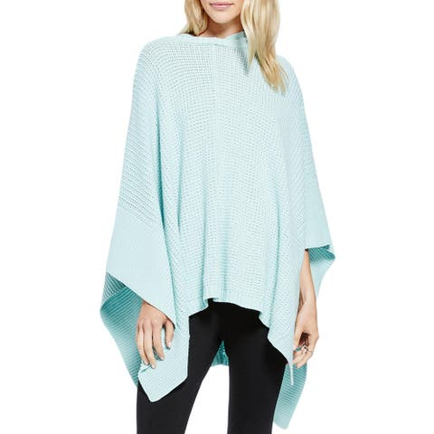 Vince Camuto Womens Poncho Sweater Pullover Slouchy