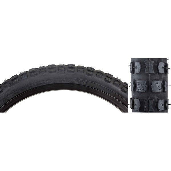 Shop Sunlite Mx K44 Bicycle Tire 20x2 125 Black Black