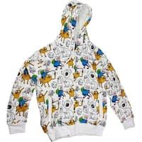Adventure Time Punch Zip-Up Hoodie