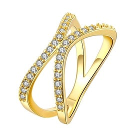 Gold Open Ended Knot Ring