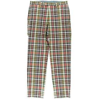 Lauren Ralph Lauren Mens Trouser Pants Cotton Plaid