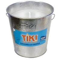 Tiki 1002 Galvanized Citronella Bucket Candle, 5""