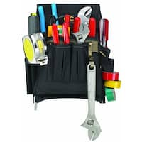 CLC 1505 Electrician's Tool Pouch, 10 Pockets