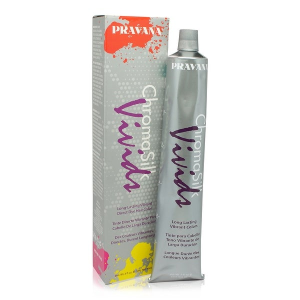 PRAVANA ChromaSilk Vivids Creme Hair Color with Silk & Keratin Protein (Blue)3 fl Oz