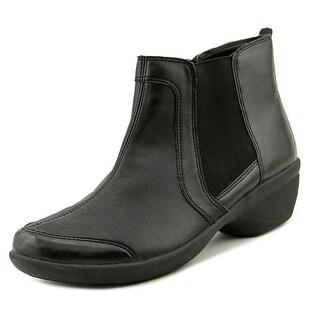 Easy Spirit Brenley Women  Round Toe Leather Black Boot