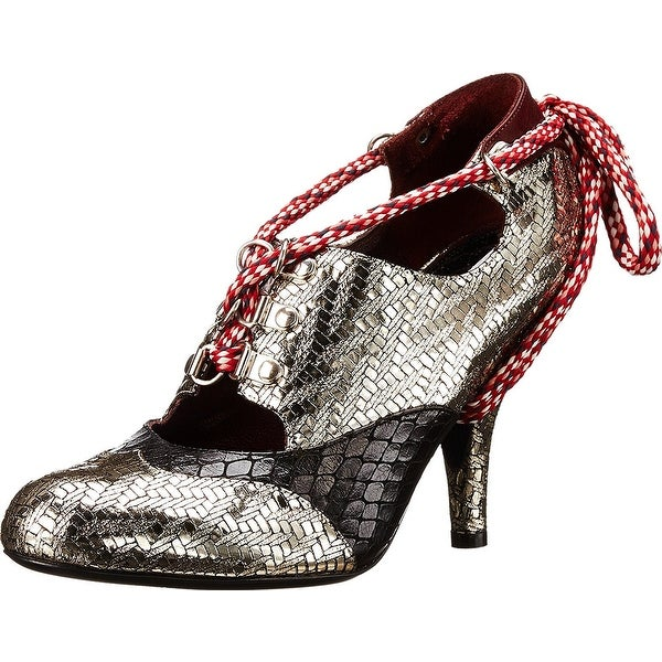 Vivienne Westwood NEW Silver Women's Shoes Size 7M Mary Jane