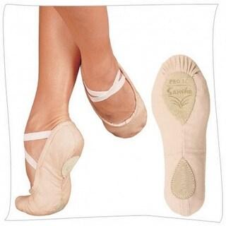 Sansha Women Pink Canvas Pro 1 Original Split Sole Ballet Slippers 2-17 Womens