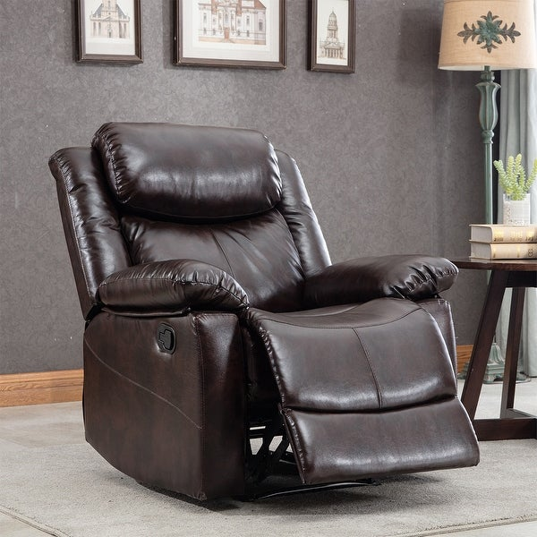Merax PU Leather Power Massage Reclining Chair with Heat and Massage. Opens flyout.