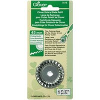 Rotary Blade Refill-45mm Pinking 1/Pkg - Pink