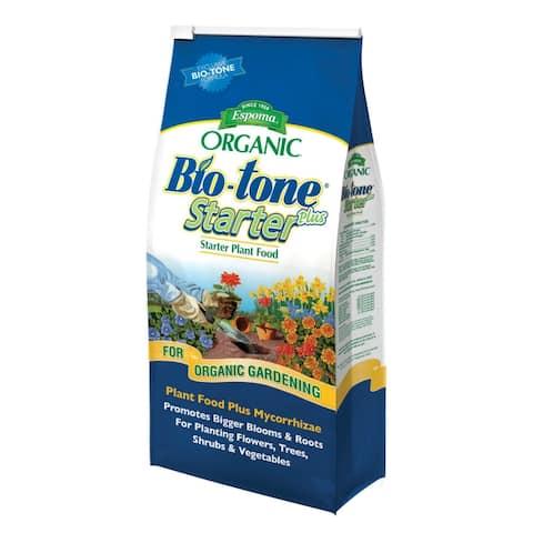 Espoma BTSP4 Bio-Tone Starter Plus Ultimate Starter Plant Food, 4-3-3, 4 Lbs