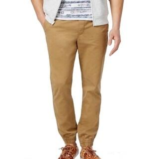 American Rag NEW Beige Mens Size Large L Khaki Chino Jogger Pants
