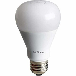 NuTone NLB60Z Single 60 Watt Equivalent A19 Shaped Standard Base Dimmable LED Bulb with Z-Wave Compatibility