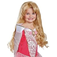 Aurora Deluxe Child Costume Costume Wig - Yellow