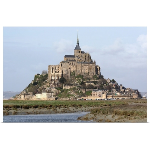 """""""Mont St Michel in France."""" Poster Print"""